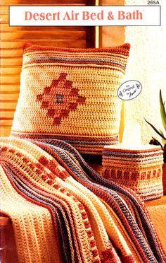 Free Stuff: Crochet Pattern Book - Southwest Style Bed & Bath ...