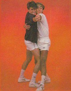 Photo gif of funny Wham! George Michael 80s, George Michael Videos, George Michel, Michael Love, Andrew Ridgeley, New Wave, Retro, Album Covers, Guys