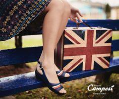 Uma sandália que vai levar você em uma viagem diretamente para o conforto.