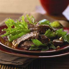 SIMPLE ASIAN BEEF SALAD
