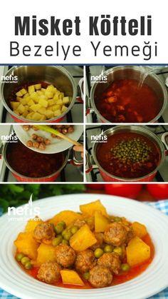 Misket Köfteli Bezelye Yemeği (videolu) Tarifi nasıl yapılır? 4.851 kişinin defterindeki bu tarifin resimli anlatımı ve deneyenlerin fotoğrafları burada. Yazar: Pınar Alpağut