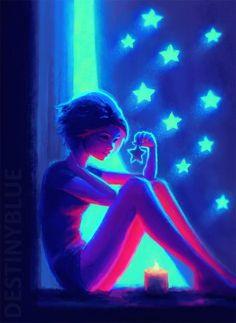 Y la vida le regaló una estrella pero no sabía como amar en la cercanía lo que una vez tuvo tan lejos...