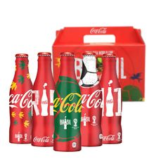 Coca Cola Aluminum Bottles Box Set FIFA World Cup 2014, Empty Bottle, Thailand    eBay