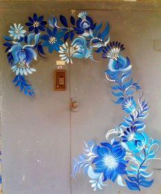 1 million+ Stunning Free Images to Use Anywhere Garden Fence Art, Garden Mural, Faux Painting, Mural Painting, Paintings, Saree Painting Designs, Faux Paint Finishes, Flower Mural, Polish Folk Art