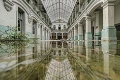 Water damage is the scourge of many old buildings. But on the flip side, the reflections captured in their flooded floors make for some amazing and ephemeral urbex photography. Click the pic above and find out for yourself!