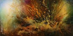 EARTH TONE ABSTRACT PAINTING   Abstract Design 48 Painting - Abstract Design 48 Fine Art Print