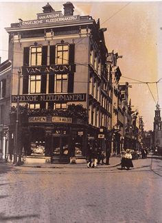 Rembrandtplein Amsterdam (jaartal: 1920 tot 1930) - Foto's SERC