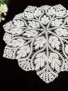 This beautiful big white doily .Will be a great decoration for your home. Will be adorable decoration at your home, will look great on any table. Made of cotton, hand wash. Size:52cm (20.5 ) Thank you for your interest in my shop