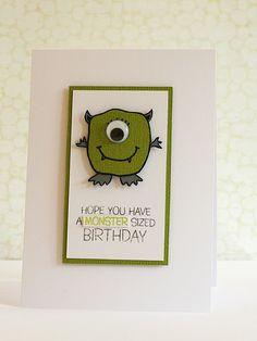 kid birthday card cute!