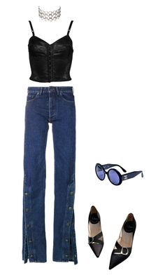 A fashion look from May 2017 featuring velvet corset, cuff jeans and black velvet pumps. Browse and shop related looks. Women's Fashion, Fashion Outfits, Aesthetic Clothes, Christian Dior, Mom Jeans, Fashion Inspiration, Casual Outfits, Outfit Ideas, Chanel
