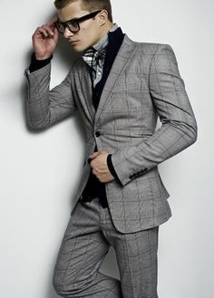 Windowpane suits are great ways to mix things up.