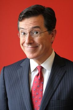 Stephen Colbert. Absolutely adorable