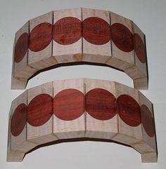 segmented woodturning