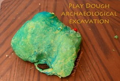 "could use for weather ! Bury ""artifacts"" in play dough for your kids, and send them on an archaeological expedition. Tell stories about imaginary societies based on the artifacts they find."