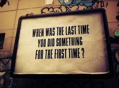 There is a first time for everything. #MotivationalMonday www.DRINKin3D.com