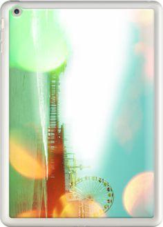 Santa Monica Pier Green Orange By stine1 for Apple iPad air #new on @TheKaseOfficial