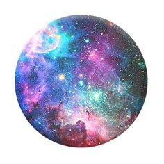 Blue Nebula                         – PopSockets Galaxy with black base and black other part!