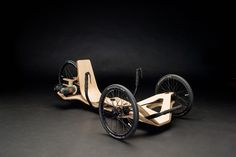 """Rennholz translates to """"Race Wood"""" and represents the ultimate in e-mobility as it stands for a vehicle driven by the power of a Bosch electric drill."""