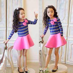 Vestido rosa casual