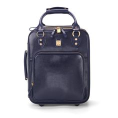 Candy Case in Navy Lizard from Aspinal of London