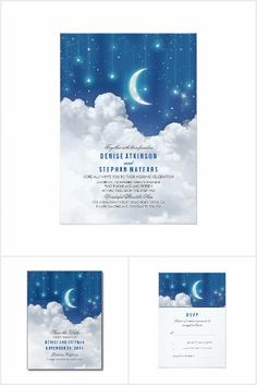 Romantic Moon and Stars Wedding Collection