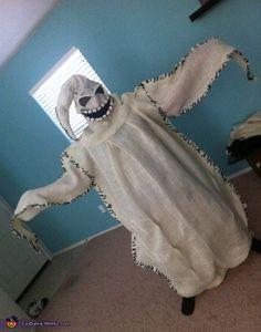 Disfraz de Mr. Oogie Boogie (villano principal en la película de Disney Pesadilla antes de Navidad)   -   Oogie Boogie Costume - 2012 Halloween Costume Contest