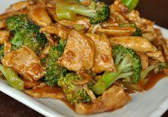 Stir Fry Chicken & Broccoli