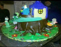 Lateral de la torta