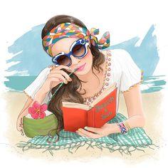 O cão que comeu o livro...: Esta leitora está de férias / This reader is on vacacion