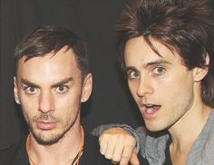Jared and Shannon Leto! <3