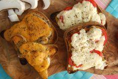 Vegan Welsh Rarebit Two Ways – Mushroom and Tomato