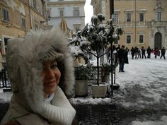 Rome with snow (Federica)