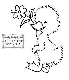 Vintage Embroidery Designs pixels - Ducks in a row (or not) embroidery patterns and some swans for good measure. Machine Embroidery Patterns, Crewel Embroidery, Hand Embroidery Designs, Vintage Embroidery, Paper Embroidery, Embroidery Ideas, Lazy Daisy Stitch, Embroidery Transfers, Copics