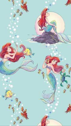 Disney Princess Ariel, Disney Princess Drawings, Mermaid Disney, Disney Princess Pictures, Disney Little Mermaids, Disney Pictures, Disney Drawings, The Little Mermaid, Ariel Wallpaper
