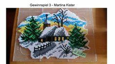 Cottage in winter wonderland
