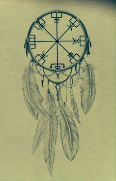 Vegvisir Tattoo Design by NirvanaOfTime.deviantart.com on @deviantART