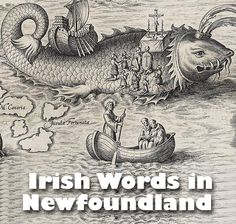 Gaeilge Thalamh an Éisc was a dialect of the Irish language spoken in the Canadian island province of Newfoundland Newfoundland Island, Newfoundland And Labrador, Canadian Things, I Am Canadian, American Words, All About Canada, Irish Language, Atlantic Canada, Northwest Territories