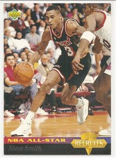 Steve Smith 1992-93 Upper Deck All-Star Weekend Miami Heat Card 35 -- For more information, visit image link.