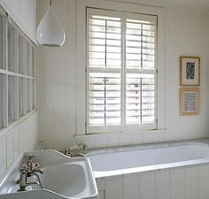 Bath: Panelled Bath Roundup : Remodelista