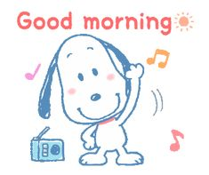 The perfect Happy GoodMorning Snoopy Animated GIF for your conversation. Discover and Share the best GIFs on Tenor. Good Morning Snoopy, Good Morning Gif, Good Morning Greetings, Good Morning Quotes, Baby Snoopy, Snoopy Love, Snoopy And Woodstock, Peanuts Cartoon, Peanuts Snoopy