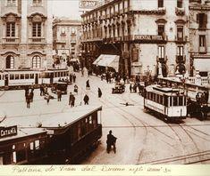 Catania anni '30 Catania, Street View, Vintage, Primitive