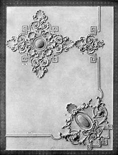 plaster ceiling relief - Google Search