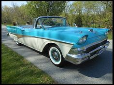 1958 Ford Fairlane 500 Skyliner 332/265 HP, Automatic at Mecum Auctions