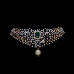 Isha Mehta saved to bling Necklaces / Chokers - Diamond Jewelry Diamond Necklaces / Chokers at USD 12 Easy Rose Gold Vintage Necklace Ideas To Complement That Special Day Diamond Choker Necklace, Gold Bangle Bracelet, Choker Necklaces, Neck Choker, Pearl Necklace, Bracelets, Earrings, Stylish Jewelry, Gold Jewelry
