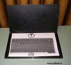 Surprise laptop knutselen