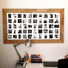 Instawall poster - DIY lijst - DIY frame - #instawall
