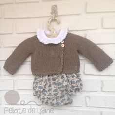 culotte con elefantes pelotedelainebebes@gmail.com Knitting For Kids, Crochet For Kids, Baby Knitting, Knitting Projects, Knitting Patterns, Fashion Moda, Boy Fashion, Fashion Outfits, Girl Outfits