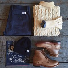 Outfit grid - Snug and warm