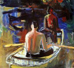 David Park, peintre de la west coast school découvert grâce à Guillaume Huret http://www.pinterest.com/guillaumehuret/david-park/