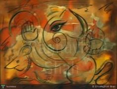 Lord Ganesha #Creative #Art #Painting @touchtalent.com.com